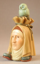 HIERONYMUS BOSCH Headfooter Owl Statue Fantasy Art Figure Figurine Sculpture