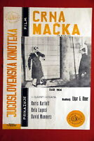 BLACK CAT BORIS KARLOFF BELA LUGOSI 1934 EXYU MOVIE POSTER