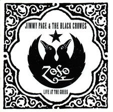 JIMMY PAGE & THE BLACK CROWES CD - LIVE AT THE GREEK [2 DISCS](2000) - NEW