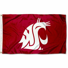 Washington State University Cougars Flag WSU NCAA 3X5FT banner US Shipper