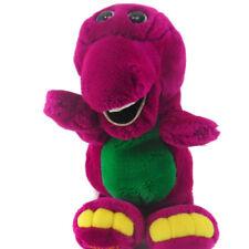 Vtg. 90s Plush BARNEY The Purple Dinosaur Hand Full Body Puppet Doll 1992 Lyons