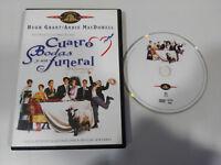 Quatre Mariage Y Un Funeral Hugh Grant Andie Macdowell DVD Espagnol English