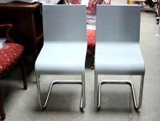 VITRA .05 Pair of 2 Stacking Grey Chairs by Maarten Van Severen, - PL-4477 A