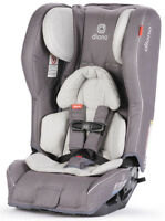 Diono Rainier 2 AXT Convertible Child Safety Car Seat + Booster Grey Oyster