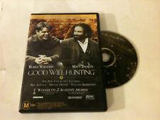 'Good Will Hunting' 1997 Region 4 Dvd - Robin Williams, Matt Damon