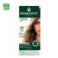 Herbatint Natural Hair Colour Golden Blonde 7D 150ml