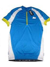 NEUF CRIVIT sports Hommes Shirt de cycliste gr. L 52/54 blau-weiß-gelb