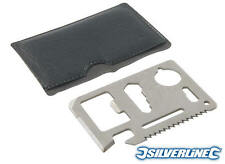 Silverline Credit Card Multi-Tool - Christmas Gift Idea - FREE UK P&P - IN STOCK