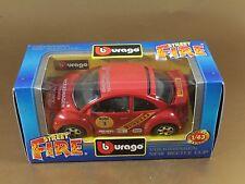 [PL3-12] BBURAGO BURAGO 1/43 STREET FIRE #41601 VOLKSWAGEN NEW BEETLE CUP NIB