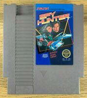 NES Spy Hunter Authentic Tested Nintendo Entertainment System 1987