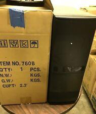 Unique Black Vintage AT Computer Case Mid Tower Build PC 386 486 NEW