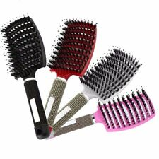 Women Hair Scalp Massage Comb Bristle Nylon Hairbrush Wet Curly Detangle Brush