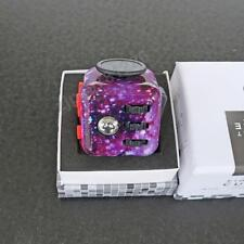 Starry Sky Fidget Cube Toy Dice Anxiety Attention Relief Adult Kid from USA
