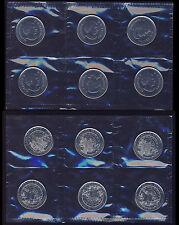 2013 $0.25 Heart 6 coins