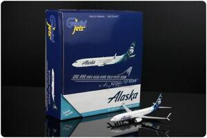 1:400 GeminiJets Alaska BOEING 737-900ER Passenger Airplane Diecast Plane Model