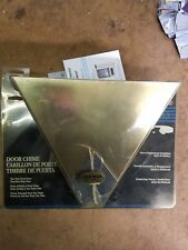 New Trine chime doorbell solid brass model 45 Nip Nos