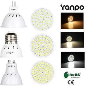 LED Spotlight Bulbs 3W 5W 7W MR16 GU10 E27 2835 SMD Lamp 220V 12V 24V High Power