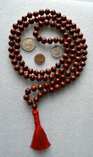 Bodhi Beads 10mm 108 Hand Knotted Karma Nirvana Mala Beads Necklace - Energized