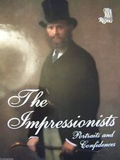 THE IMPRESSIONISTS: PORTRAITS AND CONFIDENCES Bonafoux COFFEE TABLE ART BOOK