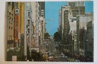 Bourke Street Melbourne Australia Vintage Collectable Postcard.
