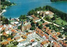 AK, Eutin Holst. Schweiz, Luftbild mit Kirche St. Michaelis, Version 3, um 1973