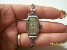 "Vintage Art Deco Tacy Cyma Ladies Swiss Watch ""MUST SEE"""