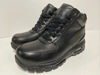 🔥New Nike Air Max ACG Goadome Men's Leather Boots Black (865031‑009) Size 9.5