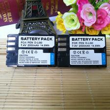 2X D-LI90 DLI90 Battery For PENTAX K3 K3 II K7 K-5 II K5 2S K01 K-1 K1 Camera