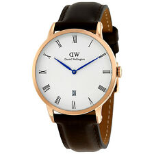 Daniel Wellington Dapper Bristol White Dial Mens Watch 1103DW