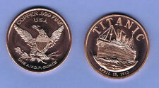 2012 TITANIC - 100th Anniversary of Sinking  - 1 ounce .999 Copper Coin