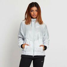 Nike Women's Medium Windrunner Platinum White Jacket 804947-011