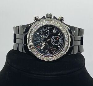 Technomarine TMY Ceramique Quartz Wristwatch With Diamond Bezel 07041351 LS
