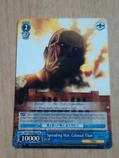 Weiss Schwarz attack on titan - Spreading War, Colossal Titan AOT/S35-PE02 PR
