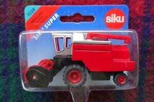 SIKU 1/87 Farming - 1024 Deutz Fahr or Massey Ferguson combine harvester (red)