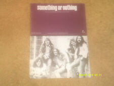 URIAH HEEP sheet music Something Or Nothing '74 4 pages (VG+ shape)