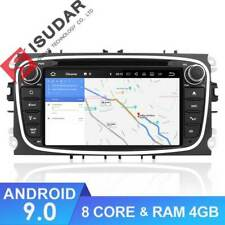 AUTORADIO Ford Focus Smax Mondeo GPS Android 9 Wifi 8core Dvd Usb Sd DSP audio