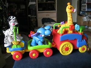 Fisher Price Amazing Animals Sing & Go Choo Choo Train with Animals