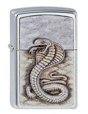 Original ZIPPO Benzin Feuerzeug Green Eyed Cobra ..........Z1440
