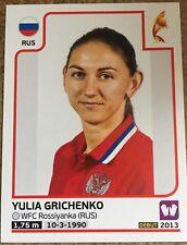 Womens Euro 2017 panini sticker - 158 Yulia Grichenko (Russia)