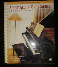 Adult All-In-One Course: Lesson-Theory-Technic: Level 1 Palmer, Willard A.