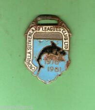 CRONULLA SHARKS  RUGBY LEAGUE  CLUB MEMBER BADGE 1976 to 1981 #17872