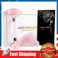 Jade Facial Beauty Roller Skin Care Toolss Massager for Face & Eyes Relieve Fine