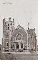 South Bend Indiana~St Pauls Church~1911 Postcard