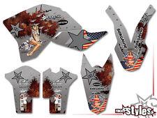 KTM SX-F EXC smr 125 150 250 300 400 450 505 | 07-11 American Way decoración Decals