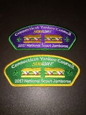 2017 Jamboree Connecticut Yankee Council SUBWAY TRADER SET