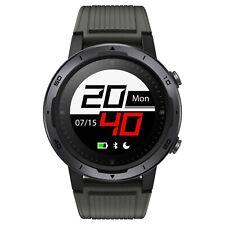 Smartwatch GPS BLUETOOTH 5ATM Pour Ios Android Moniteur Cardiaque Fitness Noir