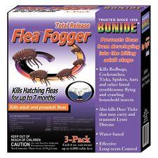 Bonide 3 Pack Total Release Indoor House Flea Fogger Kills Fleas Up To 7 Months