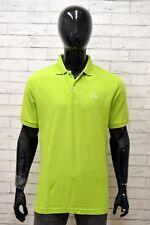 Polo Maglia Uomo KAPPA Taglia XL Maglietta Camicia Shirt Man Cotone Manica Corta