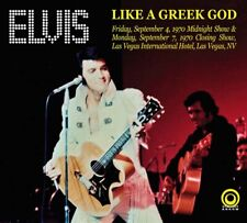 Elvis - LIKE A GREEK GOD - Deluxe 8 Panel Digi Pk 2 CD - New & Sealed **********