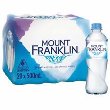 Mount Franklin Still Water 20 x 500mL....